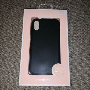 IPHONE X / XS LEATHER PHONE CASE
